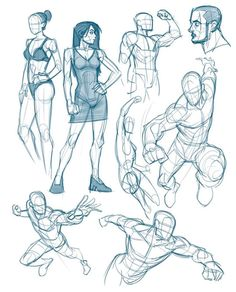 Male Figure Drawing, Figure Drawing Reference, Art Reference Poses, Female Drawing, Action Posen, Drawing Sketches, Drawings, Drawing Tips, Drawing Drawing