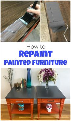 Repainting furniture is something that we avoid if possible. But when you repaint furniture or even paint over stain you need to use this furniture paint. Repainting Furniture, Paint Furniture, Furniture Making, Furniture Makeover, Cool Furniture, Upscale Furniture, Wooden Furniture, Painted Furniture For Sale, Furniture Near Me