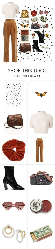 """""""trust your first initial feeling"""" by strangebeauty ❤ liked on Polyvore featuring INDIE HAIR, Rachel Comey, MaxMara, Balenciaga, Wildfox, Hint of Gold, ZeroUV and vintage"""
