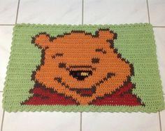 Tapete Croche Personagem Ursinho Pooh