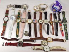 Mixed Brand Estate Lot Of 23 men women Wristwatches Quartz 1.9lbs  #A-92-17  #mixed