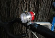 DIY Bike Light - Found via AuntPeaches
