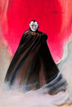 Frank Frazetta, Comic Kunst, Comic Art, Original Paintings, Original Art, 70s Sci Fi Art, Creatures Of The Night, Gothic Horror, Fantasy Illustration