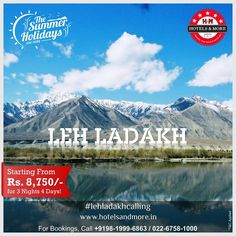 #Amazing Leh only @ Rs.8,750/- P.P for 3 Nights, 4 Days. #summer #holiday #leh #ladakh #heavenonearth #package #india #lehladakhcalling #lehladakh #specialoffer #holidays #vacation #family #friends #travel #north #beautiful #nature #mountains #everest #hotelsandmore
