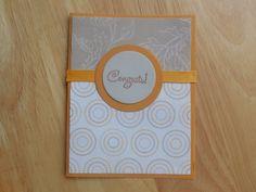 Congratulations Card handmade card
