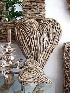 Heart (driftwood art)
