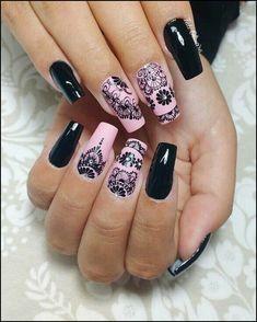 most impressive ombre black long acrylic coffin nails – page 55 Related Purple Nails, Red Nails, Swag Nails, Nail Art Printer, Long Square Nails, China Nails, Arabesque, Luxury Nails, Nail Technician