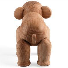 kay bojesen holzelefant design kay bojesen eichenholz 11,5x2,3x16,6 cm, 660 g 145,00 € inklusive 19% ust zzgl. versandkosten