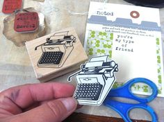 Great way to use stamps-cut out & do  3-D perhaps
