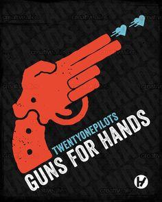 twenty | one | pilots Poster by Three Strand on CreativeAllies.com
