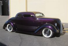1936 FORD 5-WINDOW CUSTOM COUPE