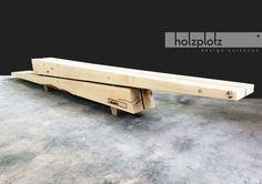 DER KLOTZ | Outdoorbank | Outdoormöbel | Sitzgelegenheit | Holz | Vollholz | Architektur | Design | Tischlerqualität | Made in Germany | individualisierbar