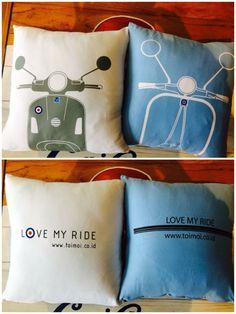 Vespa Pillow