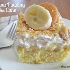 Banana pudding cake!