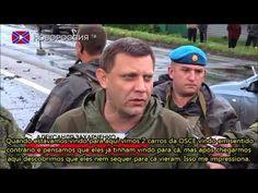 Guerra na Ucrânia - Bombardeio no Posto de Controle Novorrusso 'Elenovka...