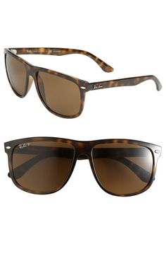 Ray-Ban 'HighStreet' Polarized 60mm Sunglasses. I want them!