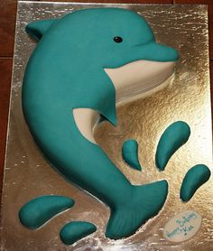 dolphin cake dubai by The House of Cakes Dubai, via Flickr
