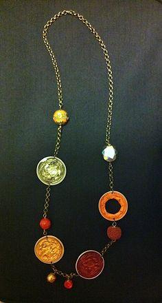 collana bronzo capsule nespresso