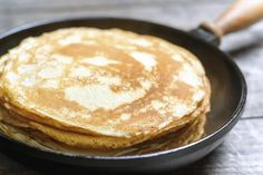 Si vous aimez les crêpes, essayez cette  #Pâte à #crêpes au #cidre  #PâteACrêpes #Chandeleur