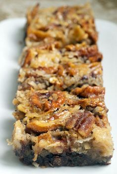 German Chocolate Pecan Pie Bars.... @Darla Sherwood Sherwood | Bakingdom ... Maybe for the brother-in-law?