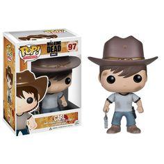 Pop The Walking Dead - Carl - Bonecos Colecionáveis e Brinquedos é na ITtoys