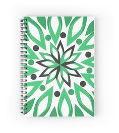 A beautiful #notebook, perfect for taking your #notes  #promo: buy 2 and save 15% #stationery #redbubble