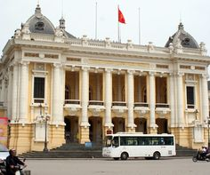 The centrepiece of Hanoi's French Quarter.
