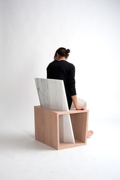 Benchina is an architectural urban seat, that is made out of wood and marble. It is design in a way, that promotes people to communicate and share their interests as well as spend their time in solitude.