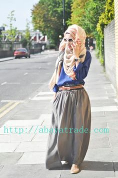 leisure muslim fashion style | Flickr - Photo Sharing!