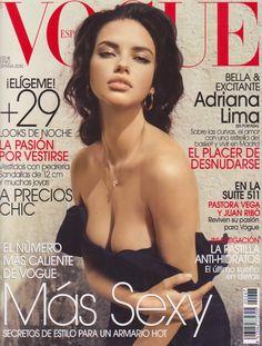 Adriana for Vogue Spain June 2010.