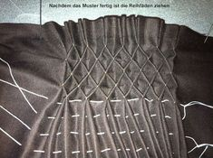 How To Do Canadian Smocking Smocking Tutorial, Smocking Patterns, Dress Sewing Patterns, Vintage Sewing Patterns, Smocking Plates, Embroidery On Clothes, Embroidery Fabric, Embroidery Patterns, Machine Embroidery