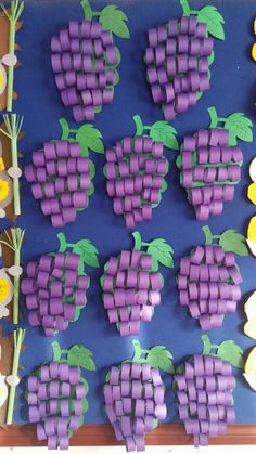 Paper crafts for kids simple paper dıy for kids crafts paper ideas Watermelon Crafts, Fruit Crafts, Paper Crafts For Kids, Diy And Crafts, Arts And Crafts, Creative Crafts, Diy Paper, Paper Crafting, Autumn Crafts
