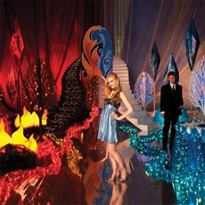 Hot n Cold Prom Theme.  Could change the name of it to Fire and Ice.