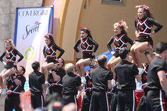 University of Louisville Cheerleaders, cheerleading, stunt m.18.4  #KyFun cheer