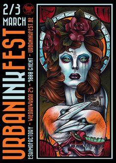 Urban Ink Fest - BELGIUM March 2 – 3, 2013