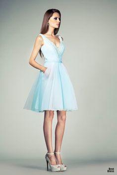 Espectaculares vestidos cortos elegantes | Vestidos de Cóctel 2015