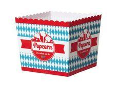 Popcorneimer aus Plastik