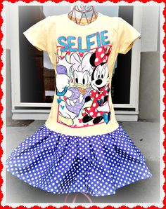 Hey, I found this really awesome Etsy listing at https://www.etsy.com/listing/183616939/girls-minnie-mouse-daisy-duck-selfie