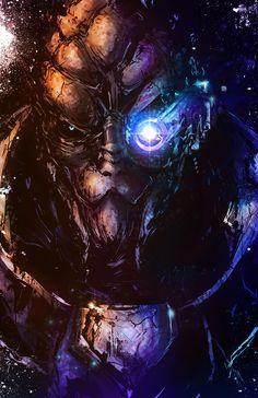 VVernacatola Art - Mass Effect Collection - Garrus