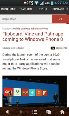 WindowsPhone is surely making some bold moves!!