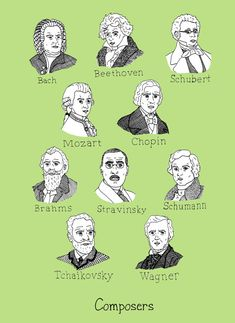 Composers print.