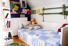 Gyerekszoba kis négyzetméteren / Éva Magazin Toddler Bed, Furniture, Home Decor, Child Bed, Decoration Home, Room Decor, Home Furnishings, Home Interior Design, Home Decoration