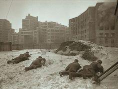 Red Army defending Kharkov