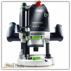 Festool OF 2200 EB Router. You might even think it is a portable shaper. woodwerks.com #woodworking #Festool #Tools