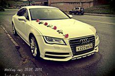 decor wedding car AUDI A7