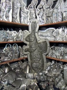 Vintage Rabbit & More Chocolate molds.