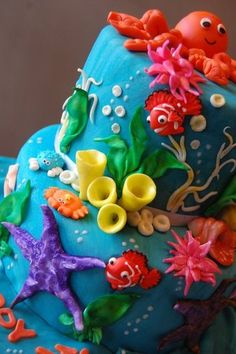Ocean cake!