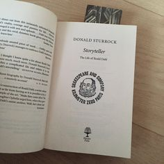 the other perk of Shakespeare & Co. is that they stamp your book to prove you bought it there. It's almost as good as a signing, and makes for a wonderful souvenir! They'll also give you a cool bookmark, and they have great tote bags