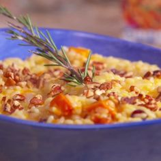 """Roasted Butternut Orange Risotto 