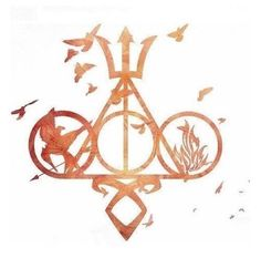 Percy Jackson, Hunger Games, Divergent, Harry Potter and The Mortal Instruments